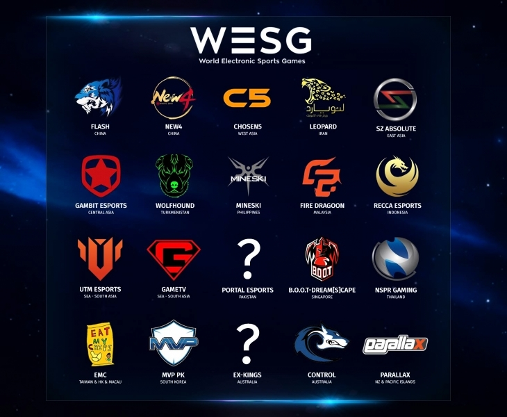 Определились все соперники Gambit на тихоокеанском финале WESG 2017 по CS:GO