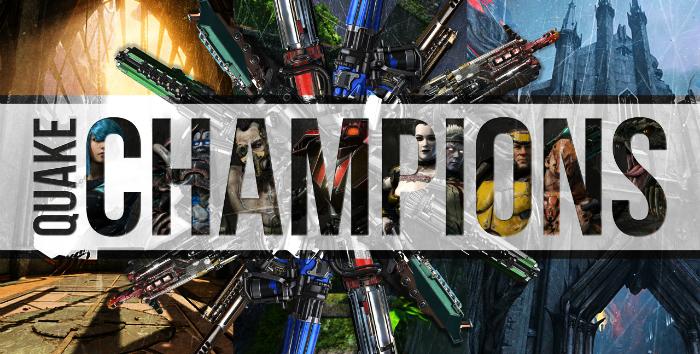 Результаты последних турниров по Quake Champions, украинец дважды третий