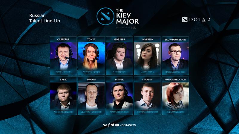 SLTV рассказали, кто будет освещать квалификации к Kiev Major